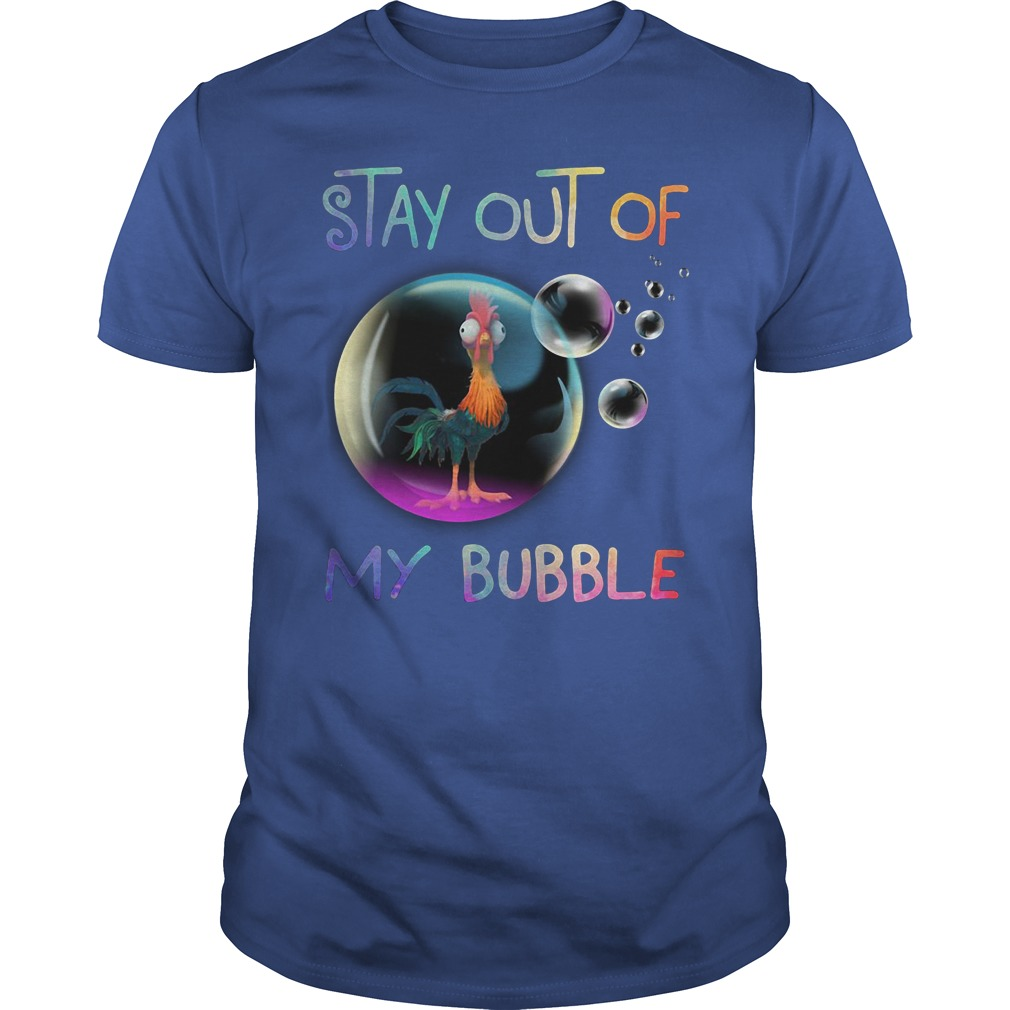 Hey Hey Say out of My bubble shirt