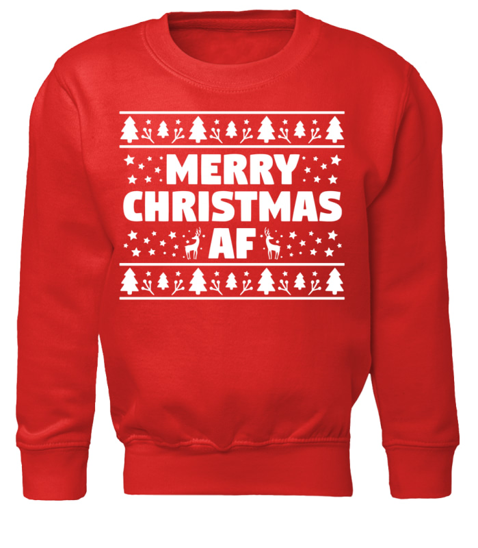 Merry Christmas Af sweater