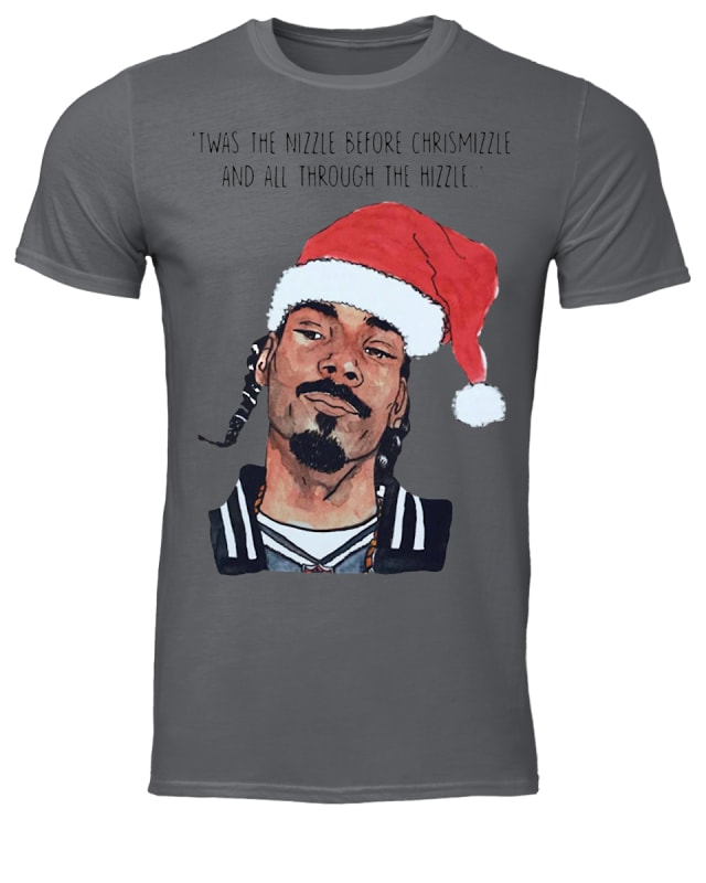 Snoop Dogg Twas the nizzle before christmizzle and all through the hizzle sweater