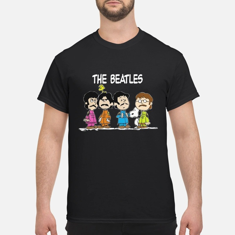 The Beatles And Snoopy Shirt