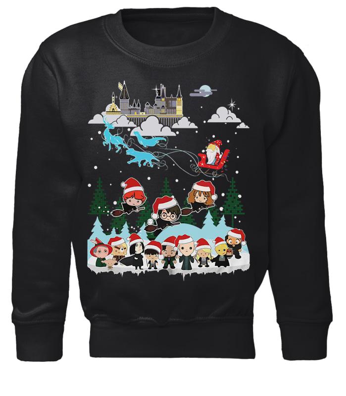 Chibi Harry Potter ugly Christmas sweater