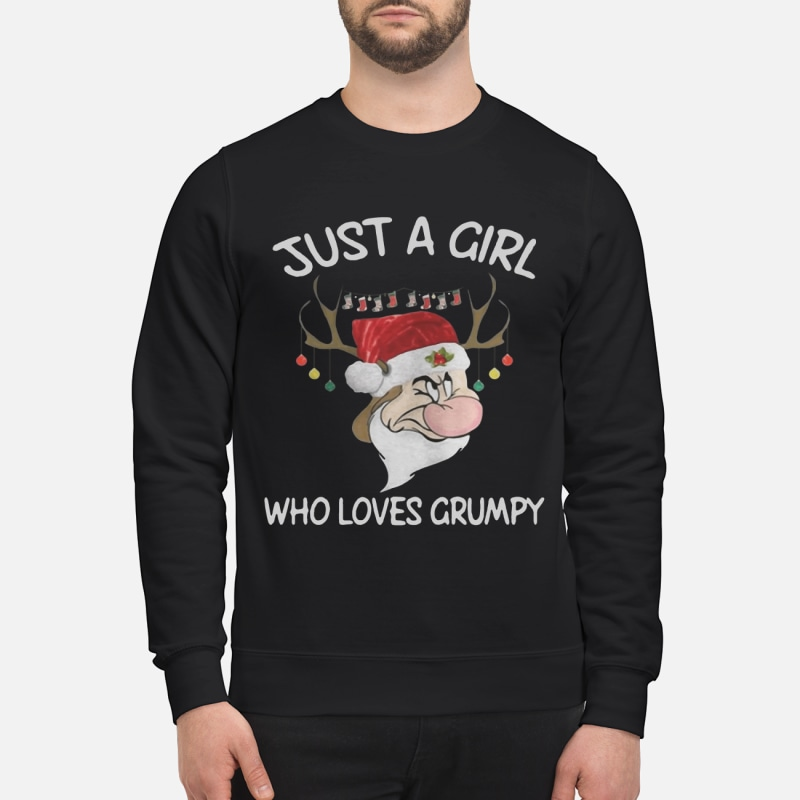 Christmas Grumpy Reindeer just a girl who loves Grumpy sweater