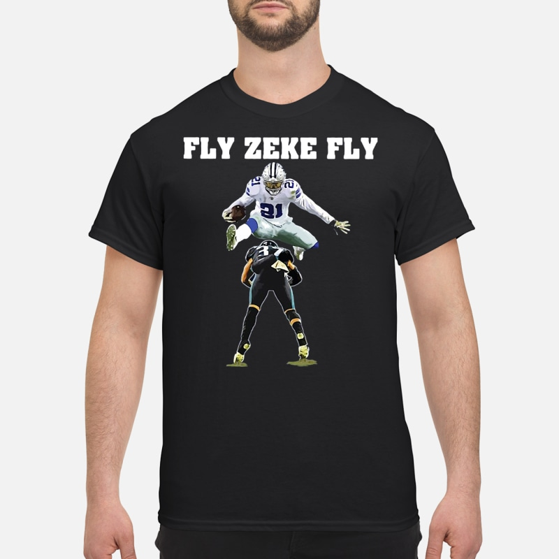 Ezekiel Elliott Fly Zeke Fly Dallas Cowboys shirt c0b2a5ca8