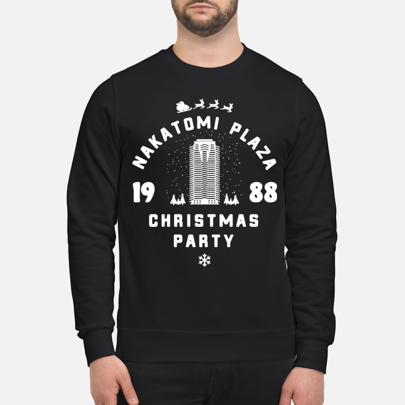 Nakatomi Plaza 1988 Christmas party sweater