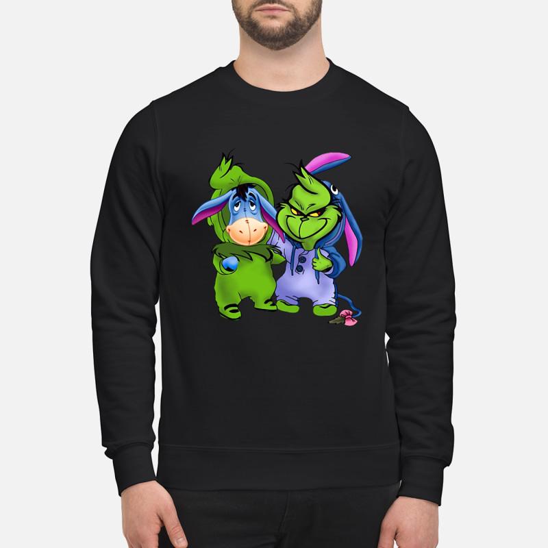 Best friends Eeyore and Grinch shirt
