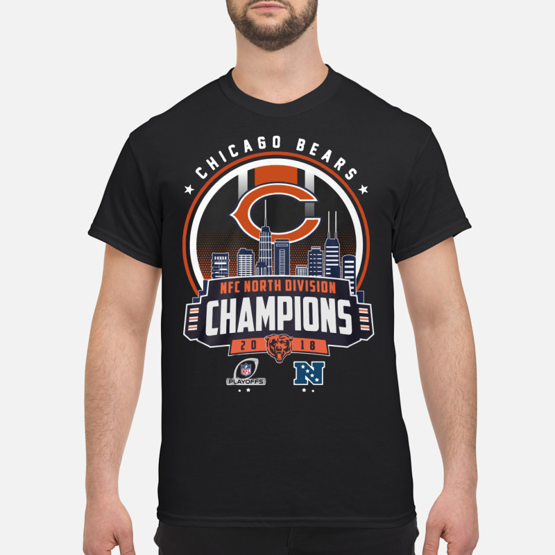 42477a84f Chicago Bears Nfc North Division Champions 2018 shirt