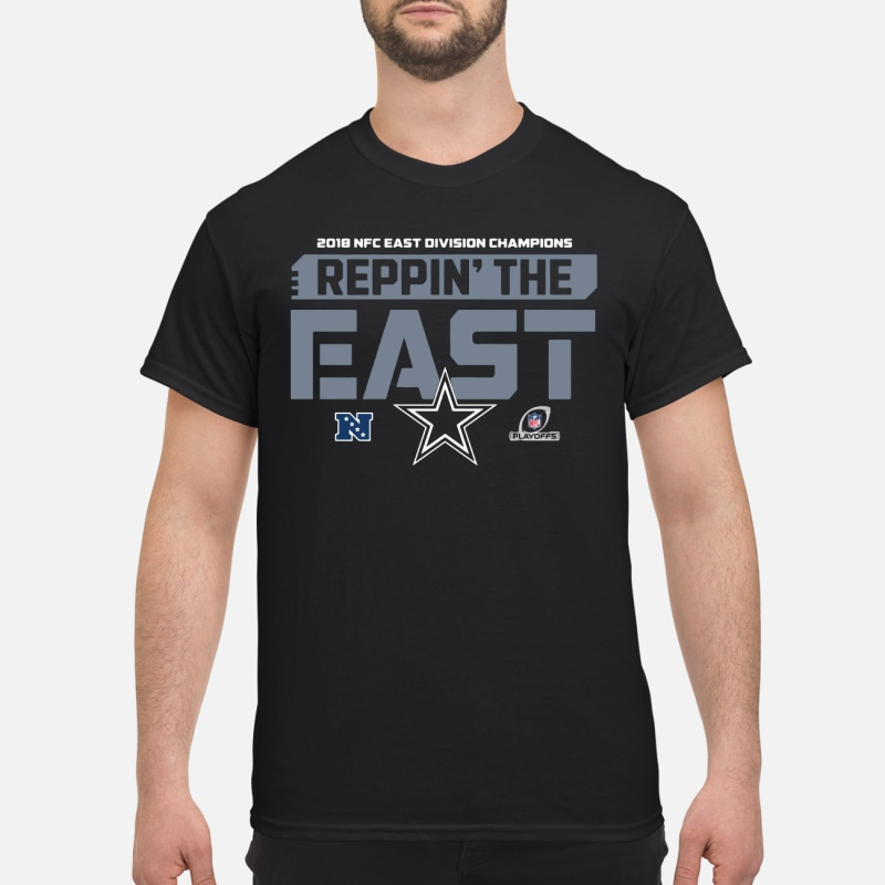 Dallas Cowboys 2018 NFC East Division Champions Reppin  The East shirt 7ea8d0a59
