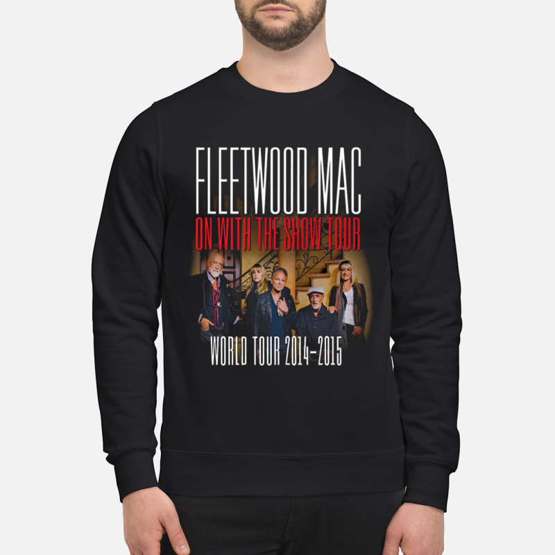 Fleetwood Mac on with the show tour world tour 2014-2015 shirt