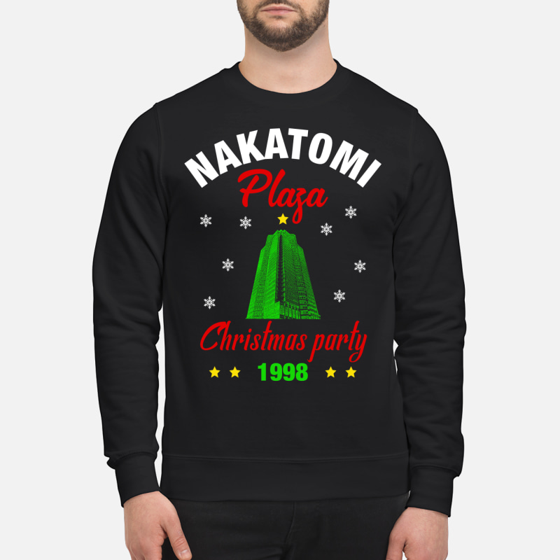 6f530e8a0 Nakatomi Plaza Christmas Party 1988 sweatshirt, hoodie, and t-shirt