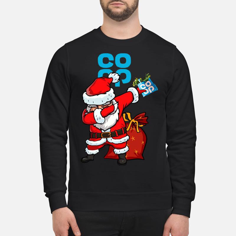 Santa Claus Dabbing Christmas Co Op sweater