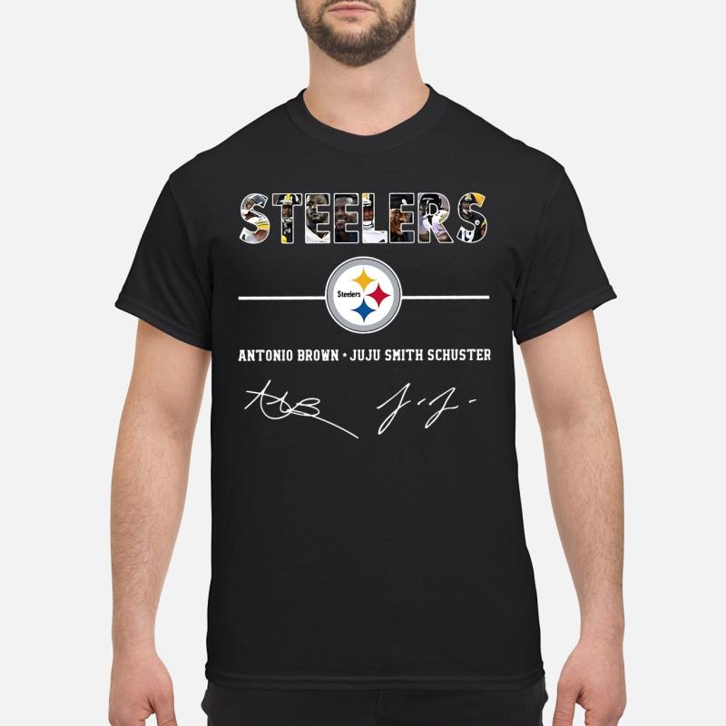 Steelers Steelers antonio brown juju smith schuster shirt