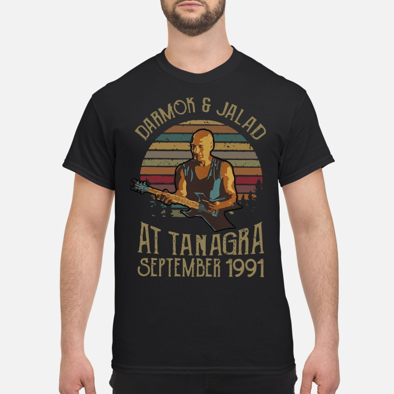 Sunset Darmok and Jalad at Tanagra shirt