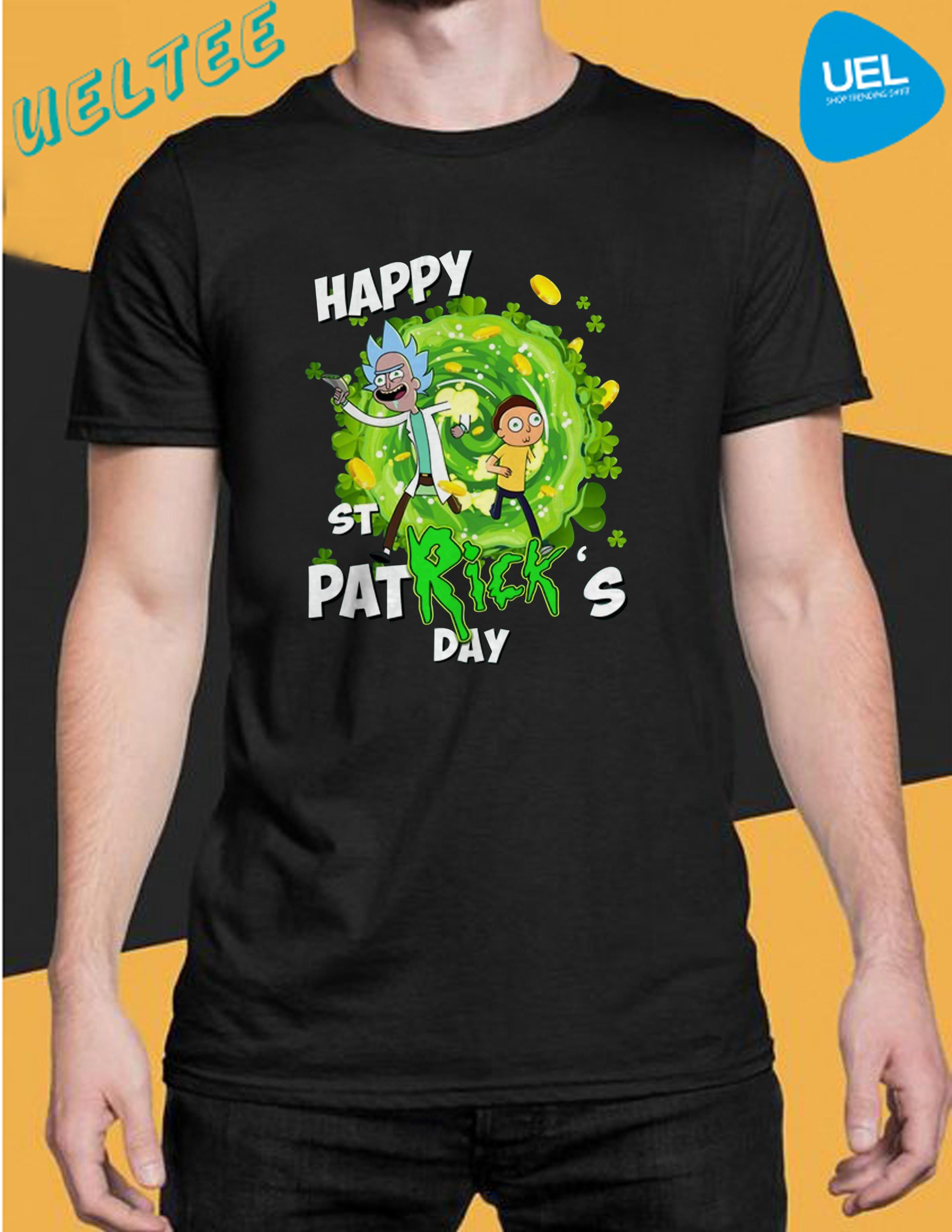 Rick and Morty Happy St Patrick day shirt