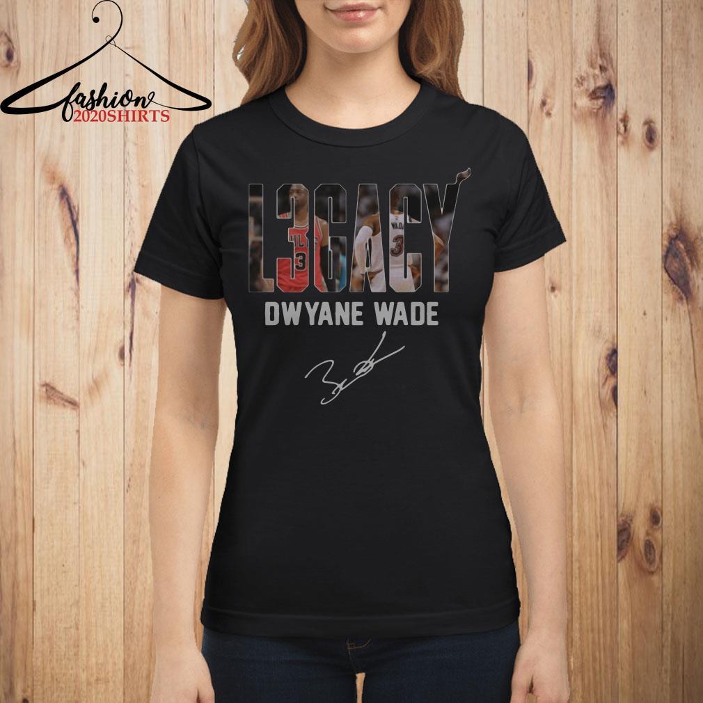 Dwyane Wade Legacy signature shirt
