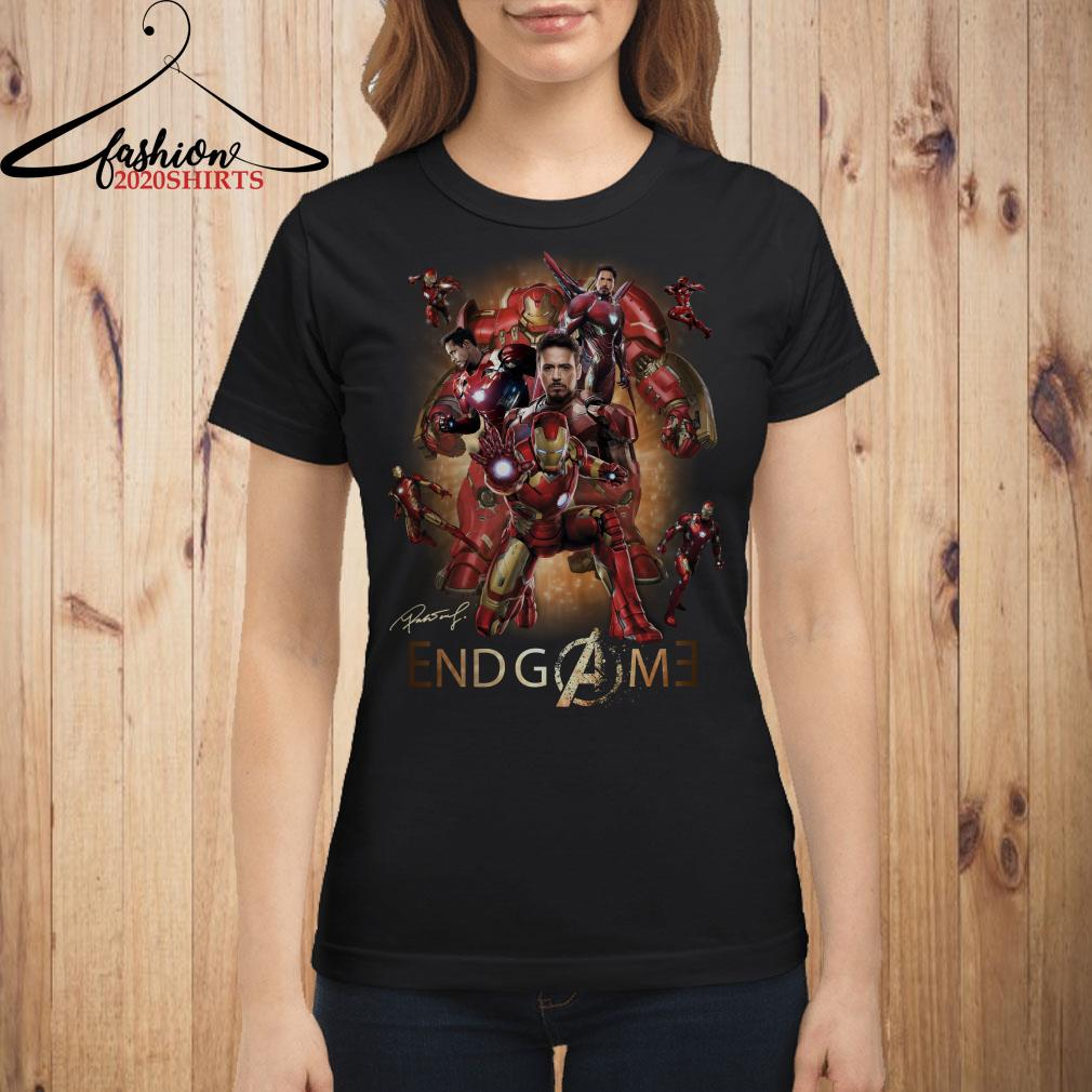 Iron Man Marvel Avengers Endgame shirt