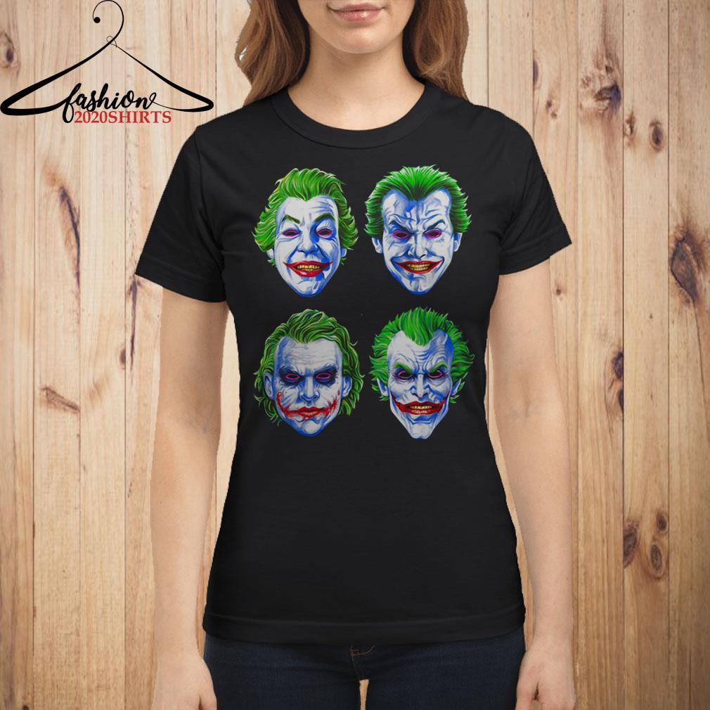 Joker Faces of Insanity shirt