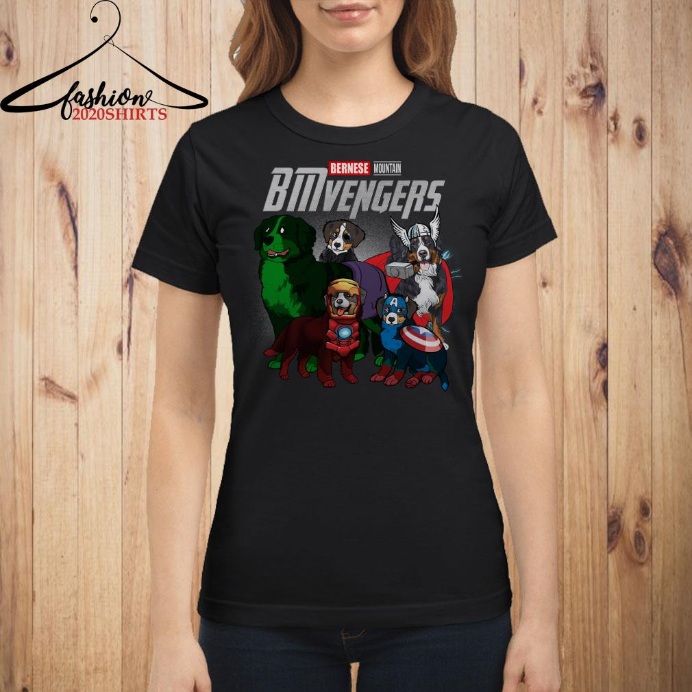 Marvel Avengers Endgame Bernese Mountain BMvengers shirt