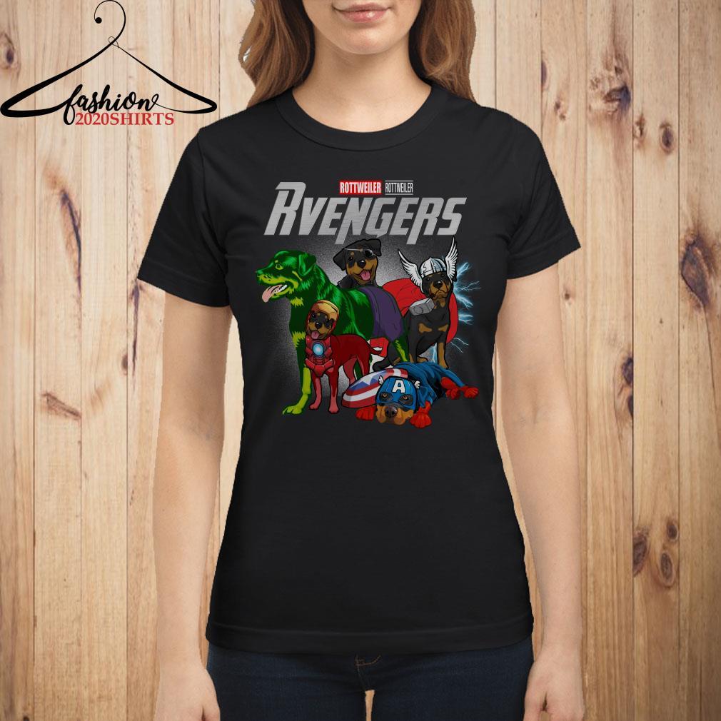 Marvel Avengers Endgame Revengers Rottweiler shirt