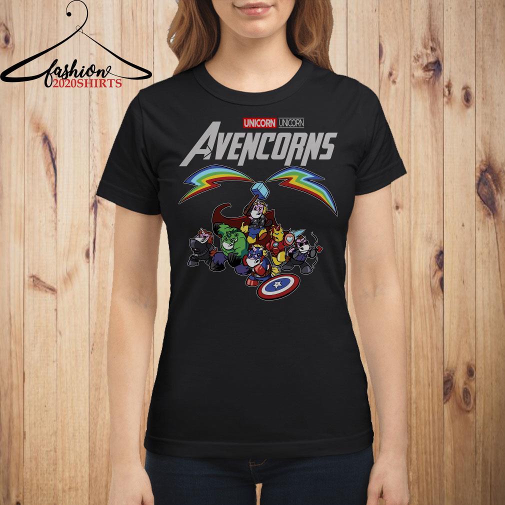 Marvel Avengers Endgame Unicorn Avencorns shirt