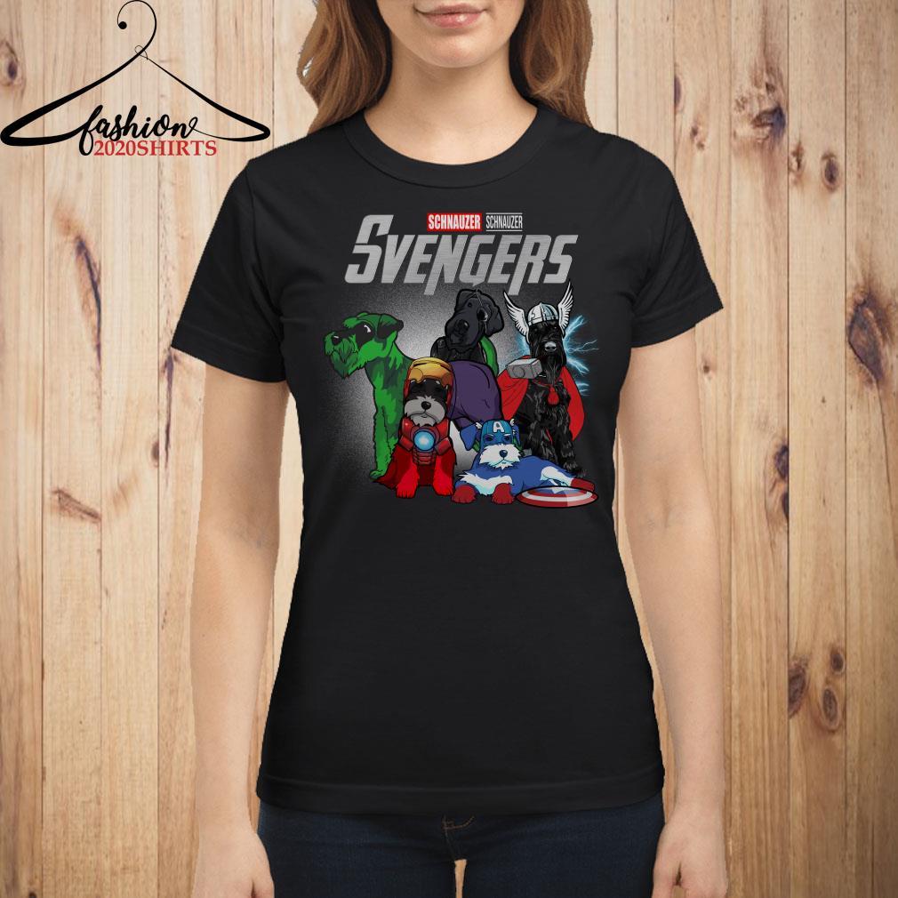 Marvel Avengers Schnauzer Svengers shirt