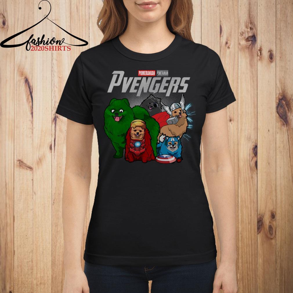 Pvengers Pomeranian Avengers Endgame shirt