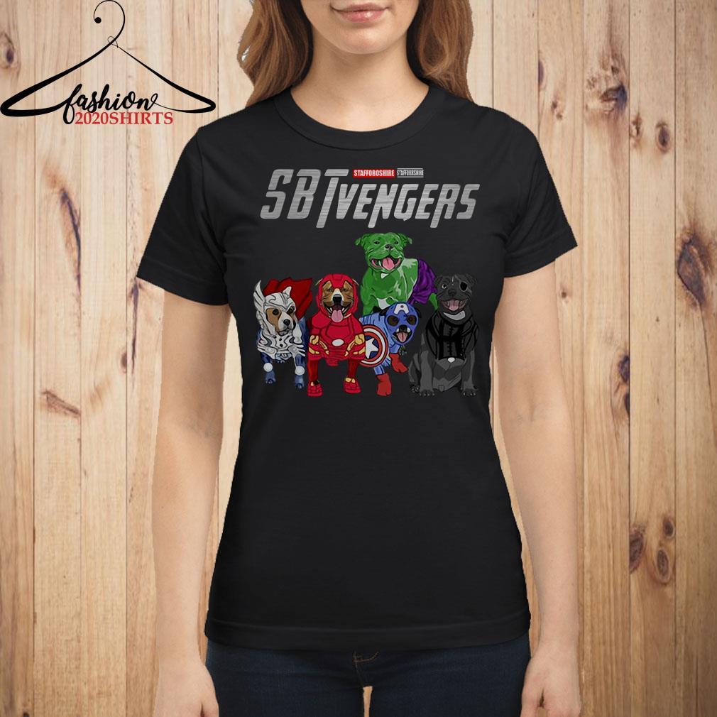 Staffordshire Bull Terrier SBTvengers shirt