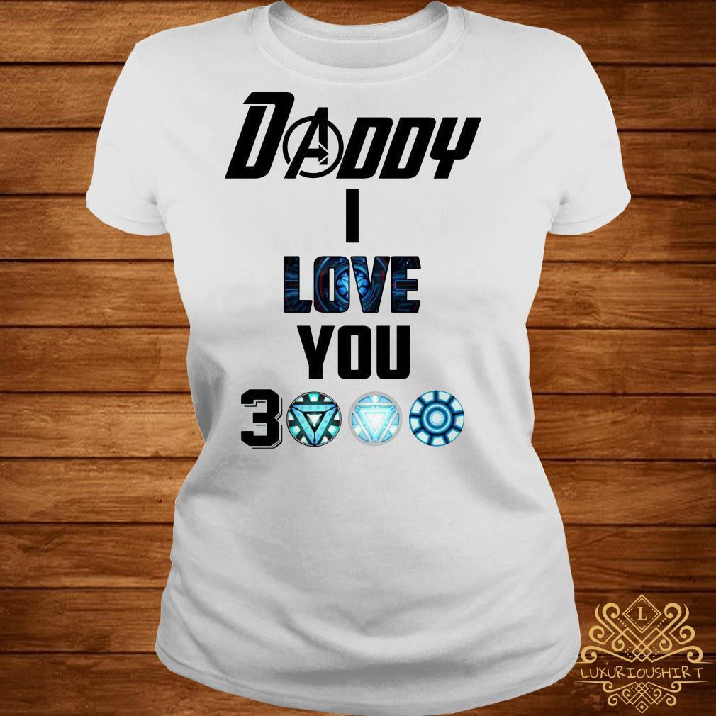 Daddy I Love You 3000 Toddler Shirt