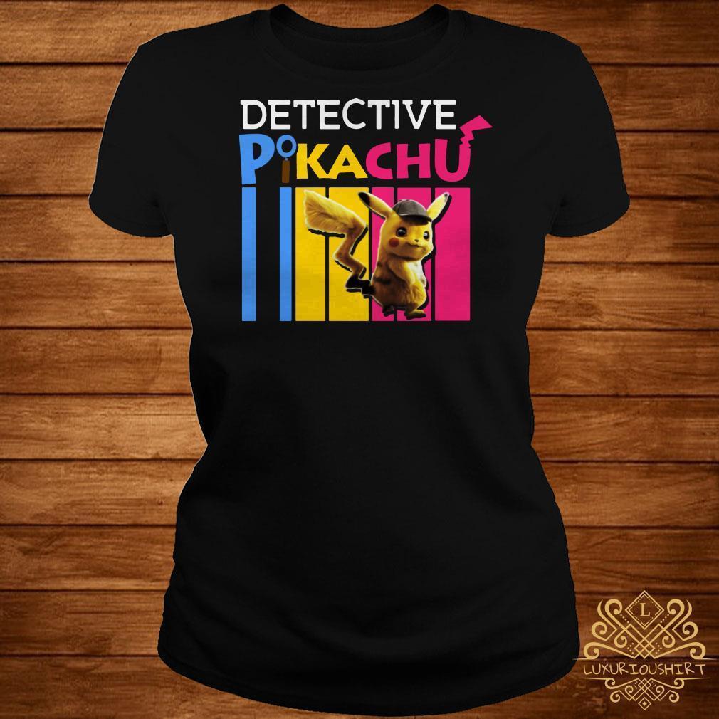 Detective Pikachu color shirt