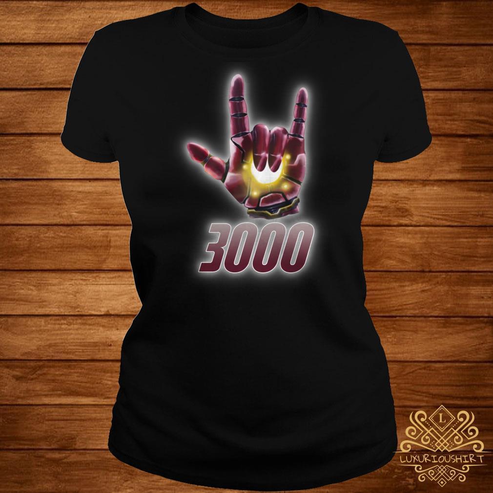Iron Man Deaf pride 3000 shirt