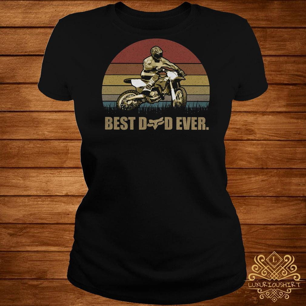 Motor best dad ever vintage shirt