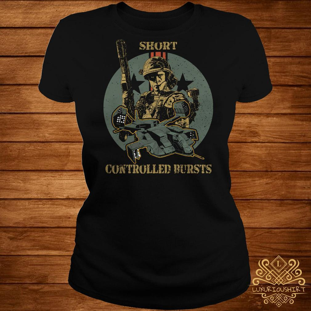 Soldier short controlled bursts shirt