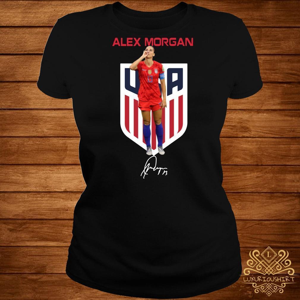 Alex Morgan USA signature shirt