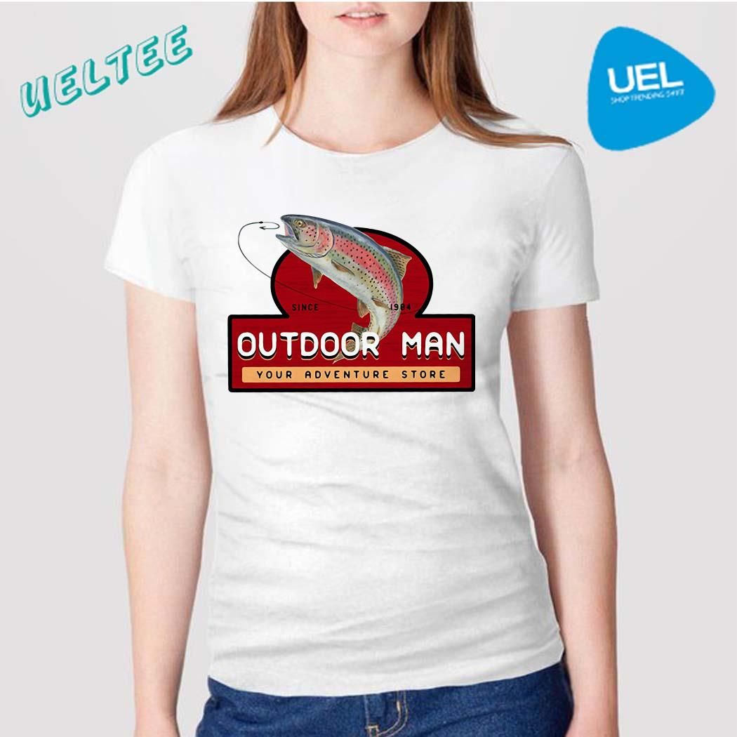 Fishing since 1984 outdoor man your adventure store shirt
