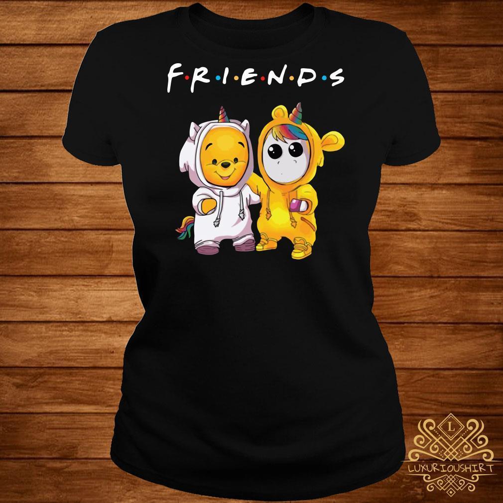 Friends Pooh and Unicorn shirt