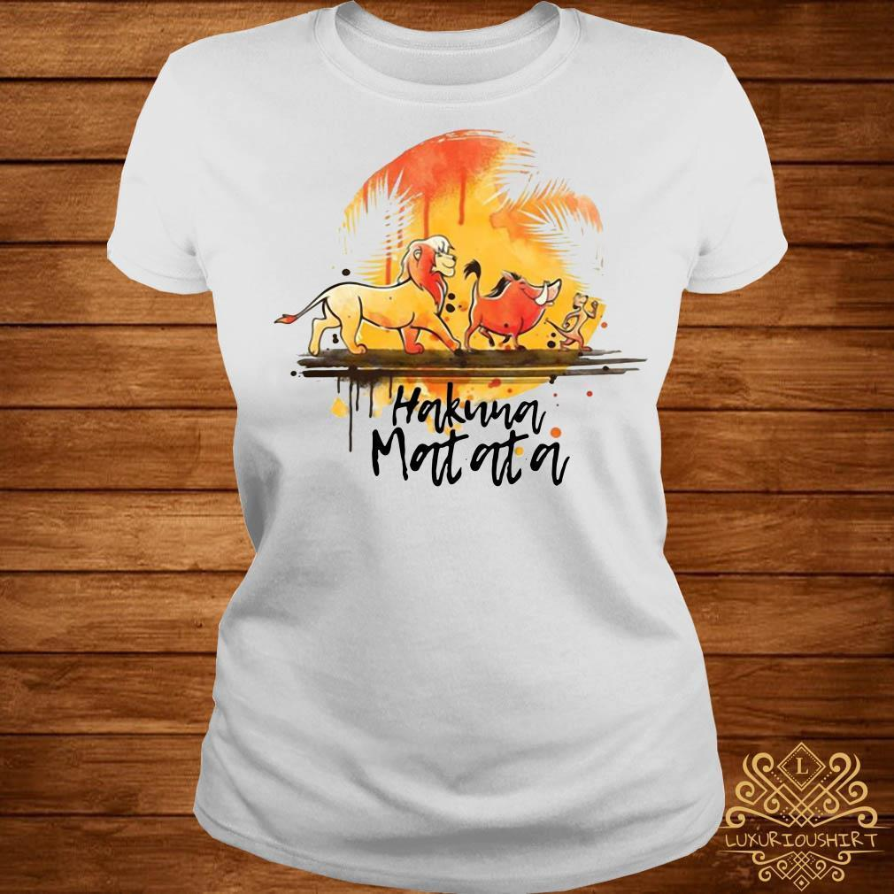 Hakuna Matata The Lion King Simba Pumbaa Timon shirt