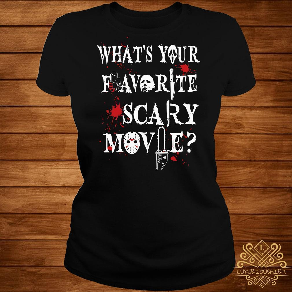 Halloween Ghostface what's your favorite scary movie shirt