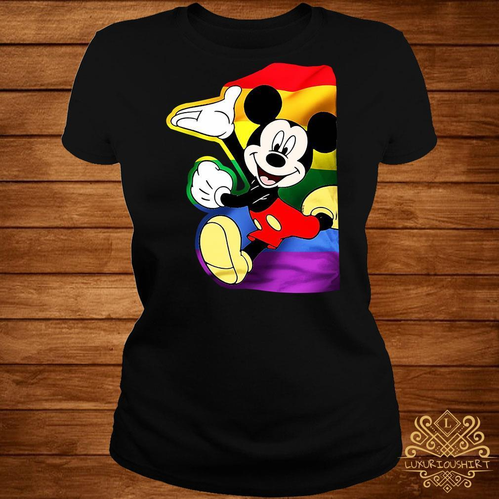 LGBT Mickey Mouse shirt