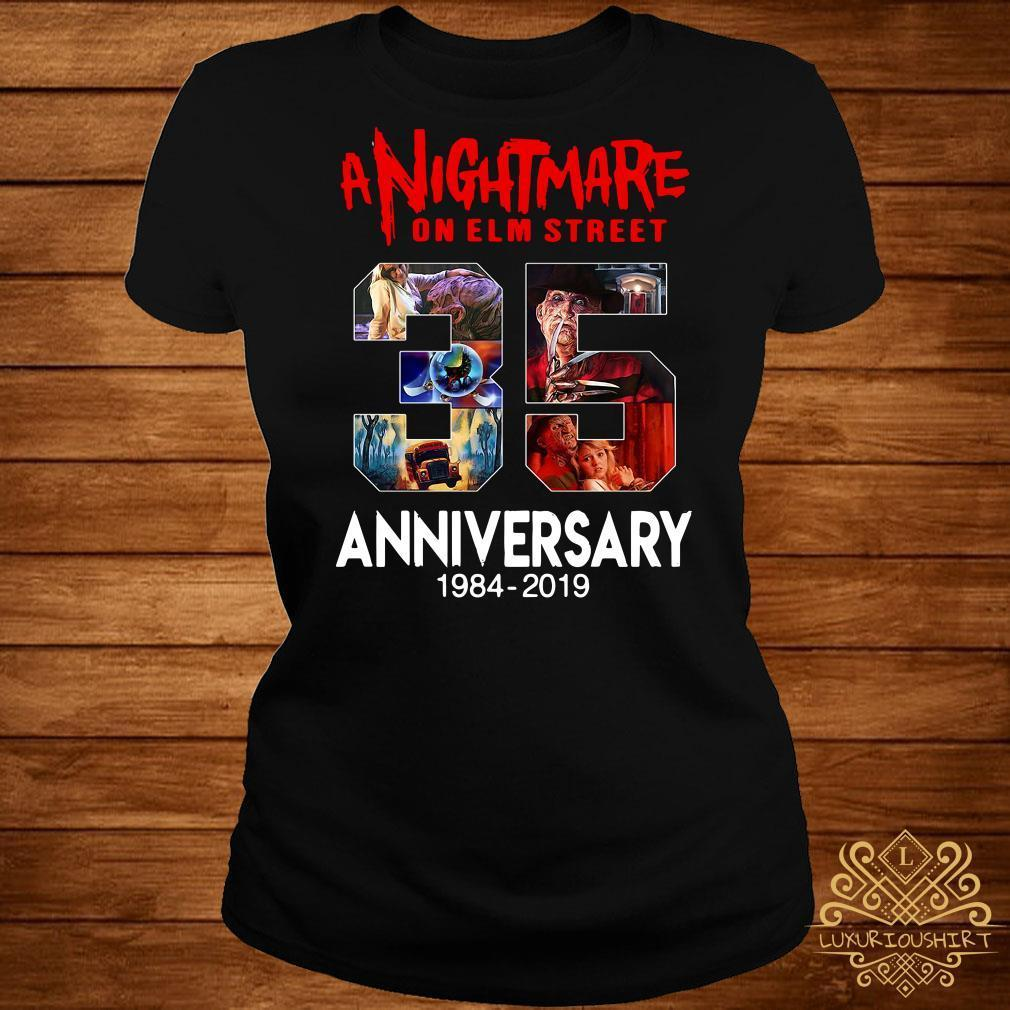 A nightmare on elm street 35th anniversary 1984 2019 shirt