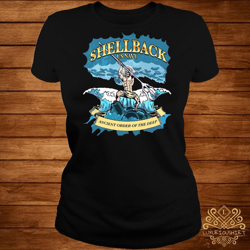 Shellback US Navy ancient order of the deep shirt