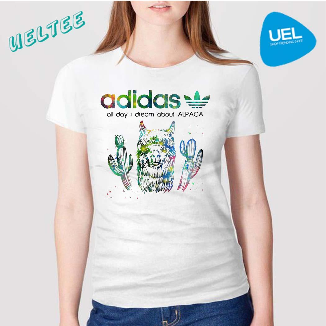 Adidas all day I dream about Alpaca shirt