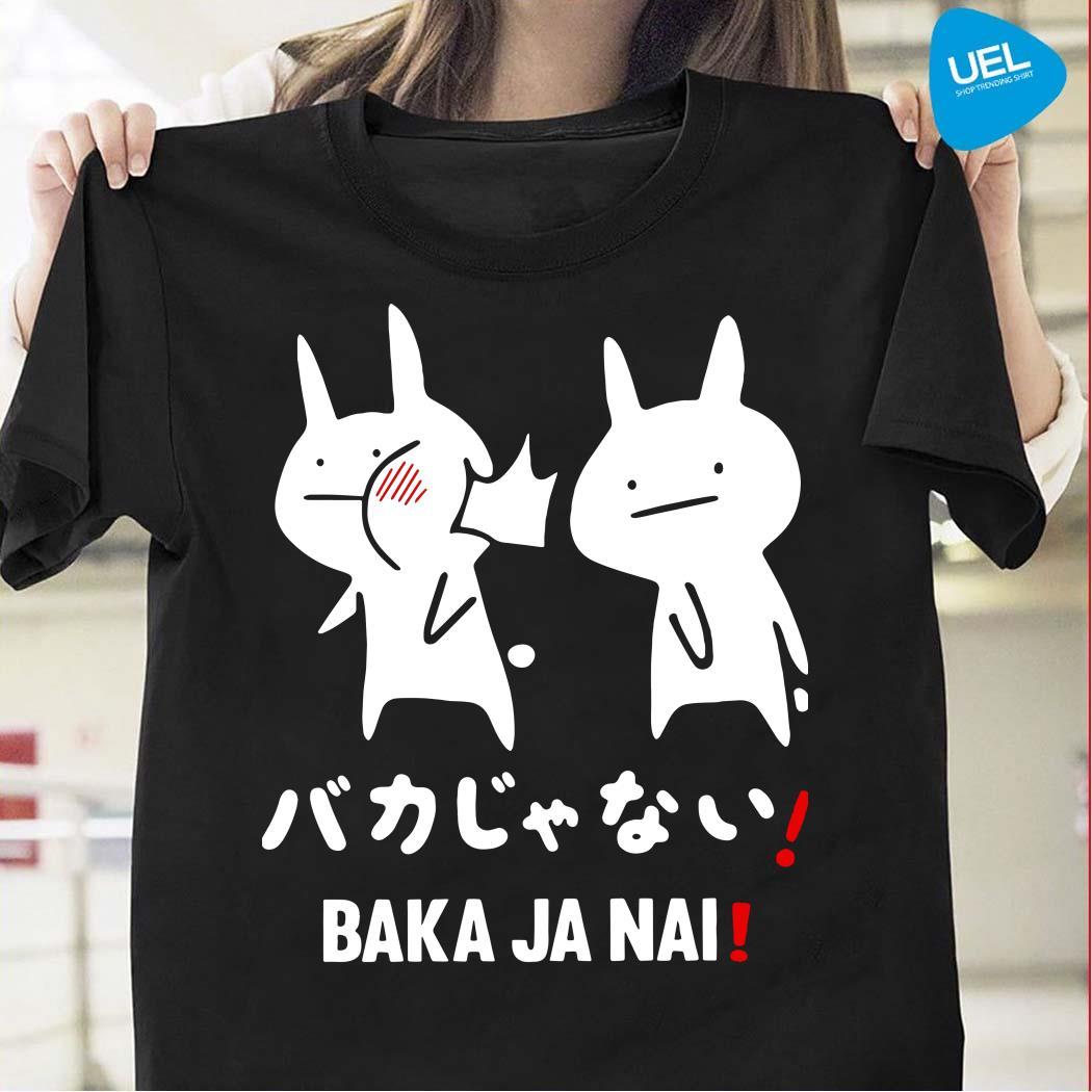 Anime Baka Ja Nai Rabbit slap shirt