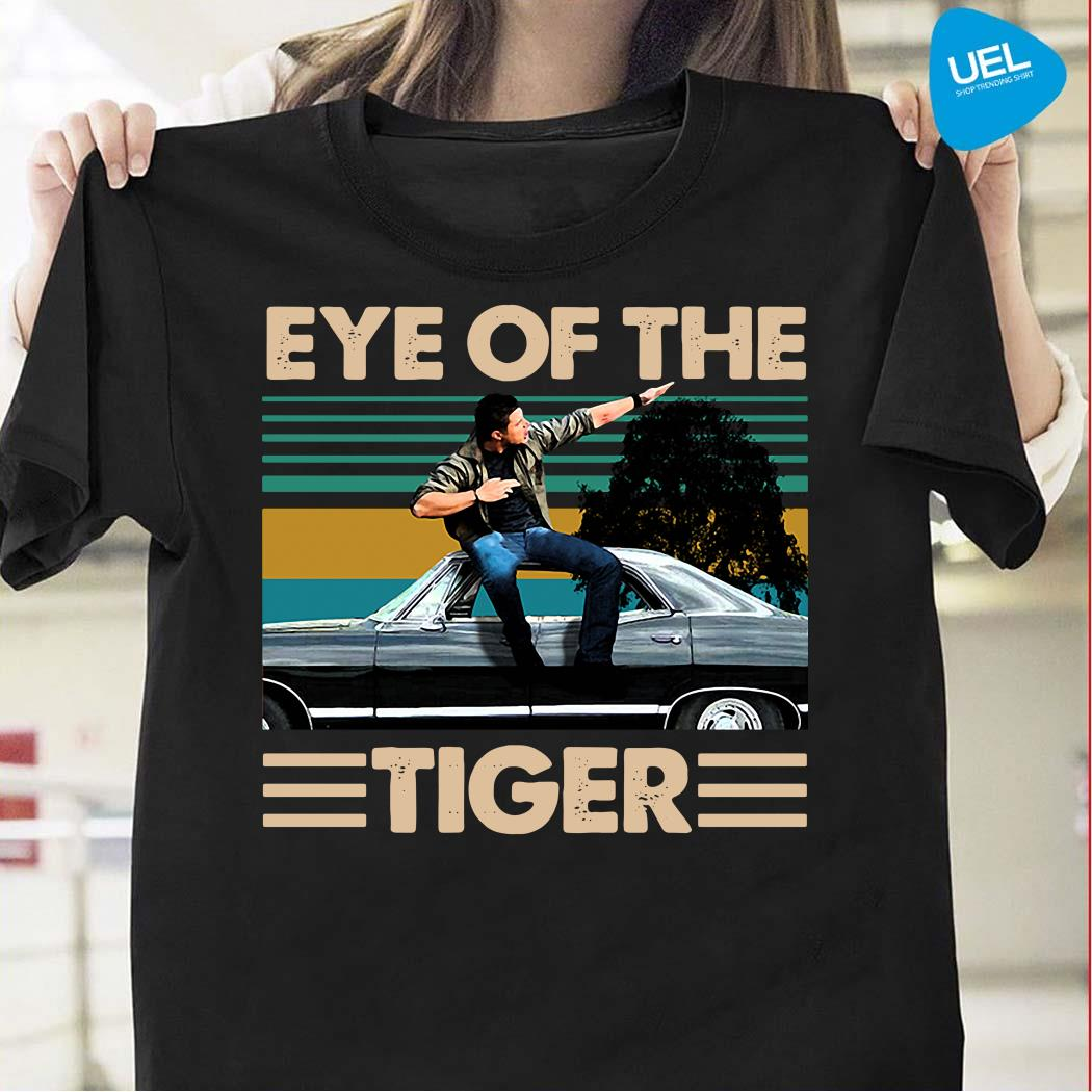 Eye of the tiger Supernatural retro shirt