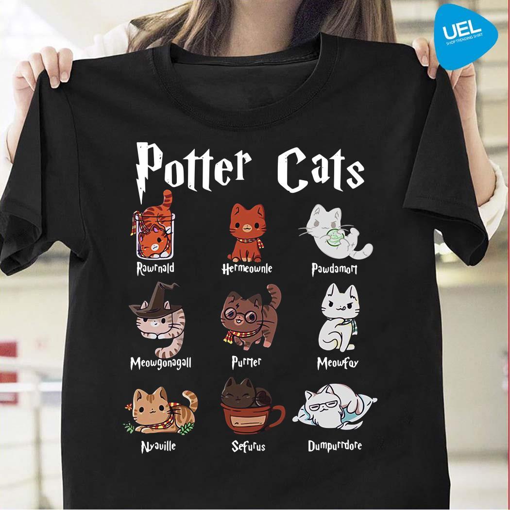 Harry Potter cats shirt