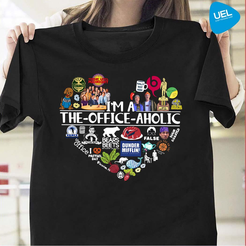 I'm a The Office aholic shirt
