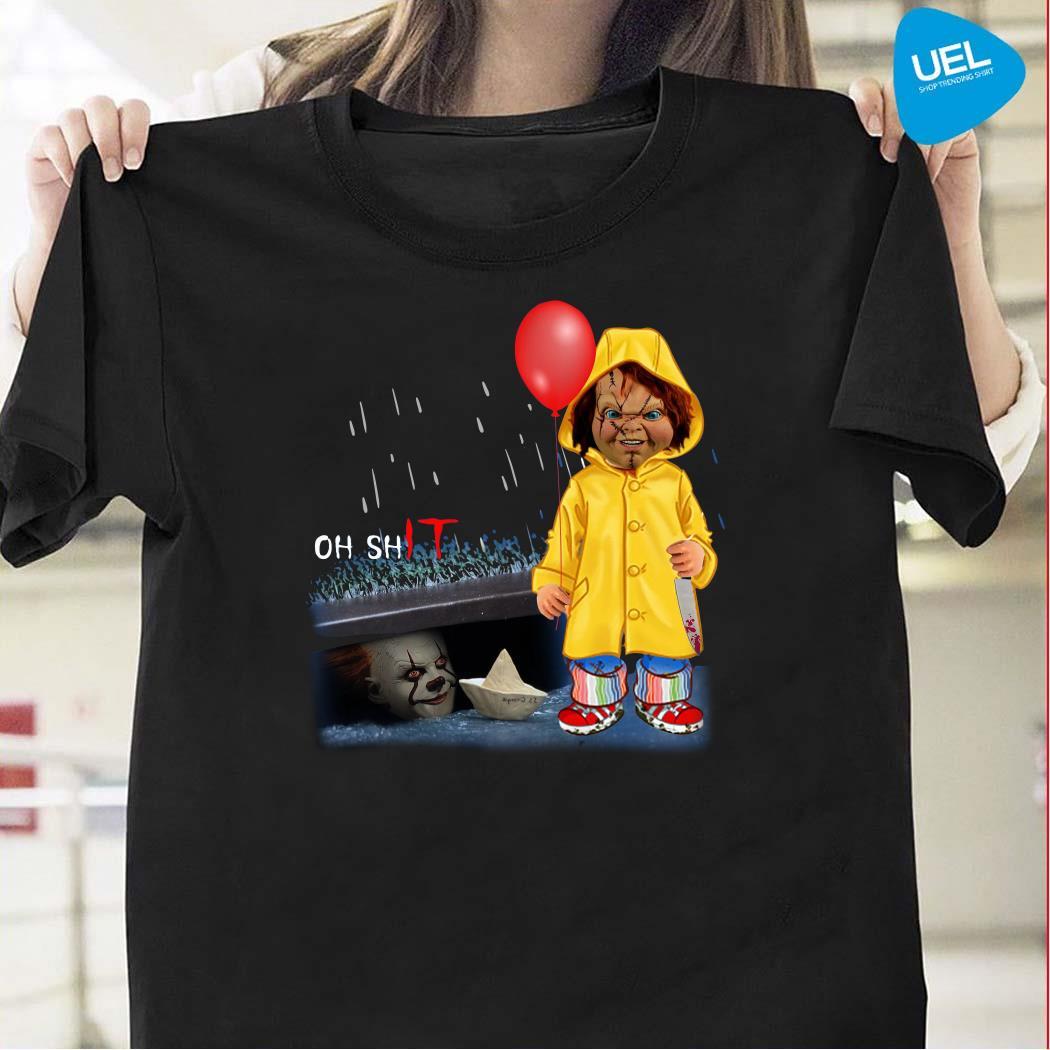 Chucky Georgie Denbrough oh shit IT shirt
