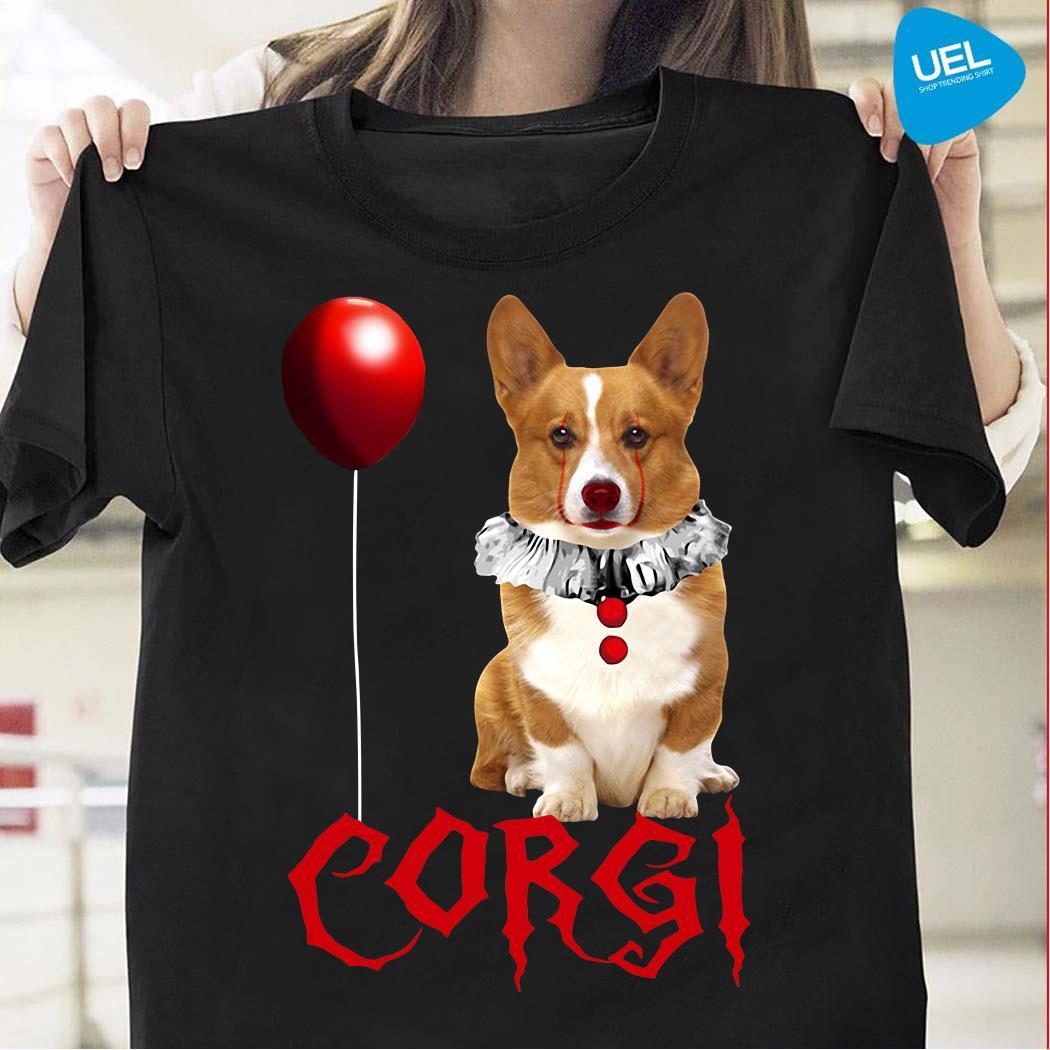 Corgi IT float too Halloween shirt