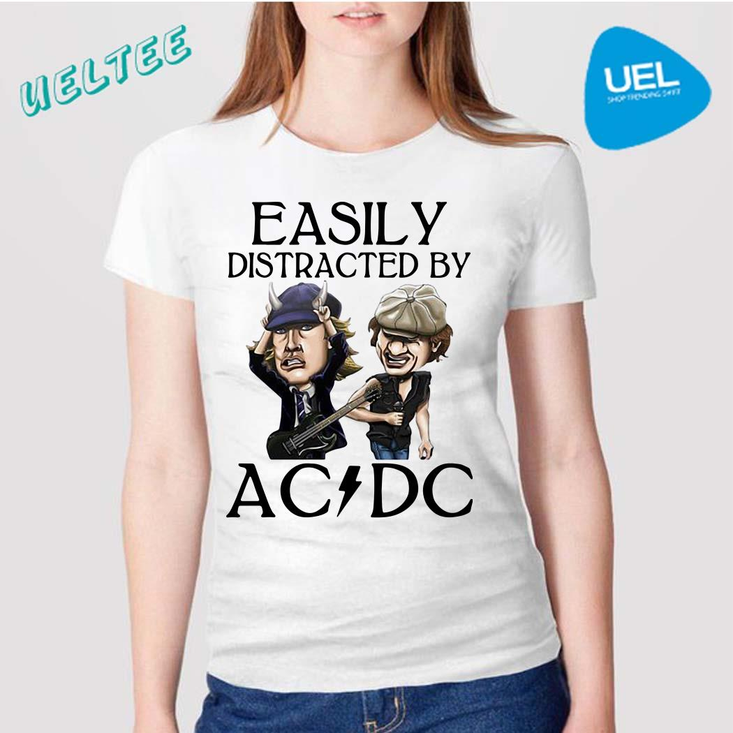Easily distracted by AC DC shirt