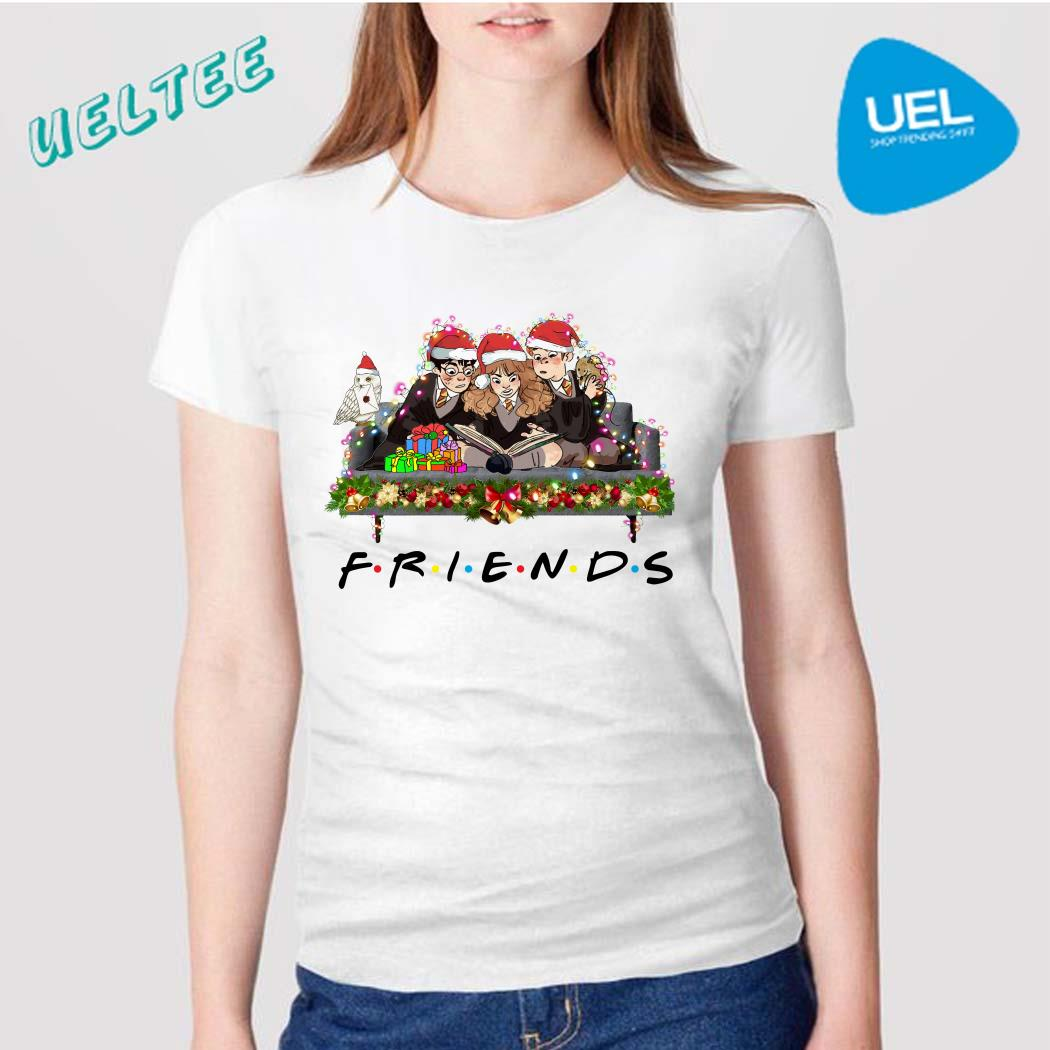 Harry Potter Ron And Hermione Friends Christmas Shirt