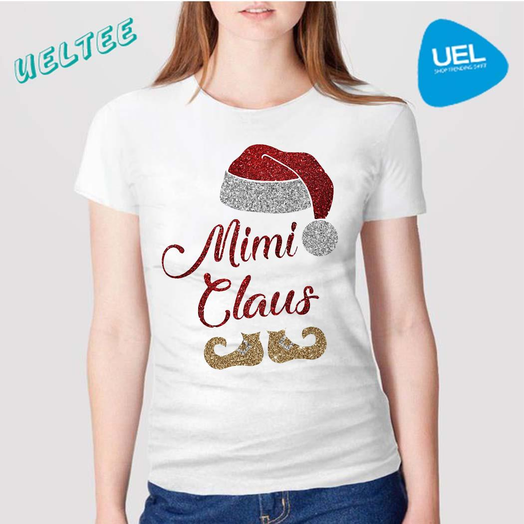 Mimi Claus Christmas Santa shirt