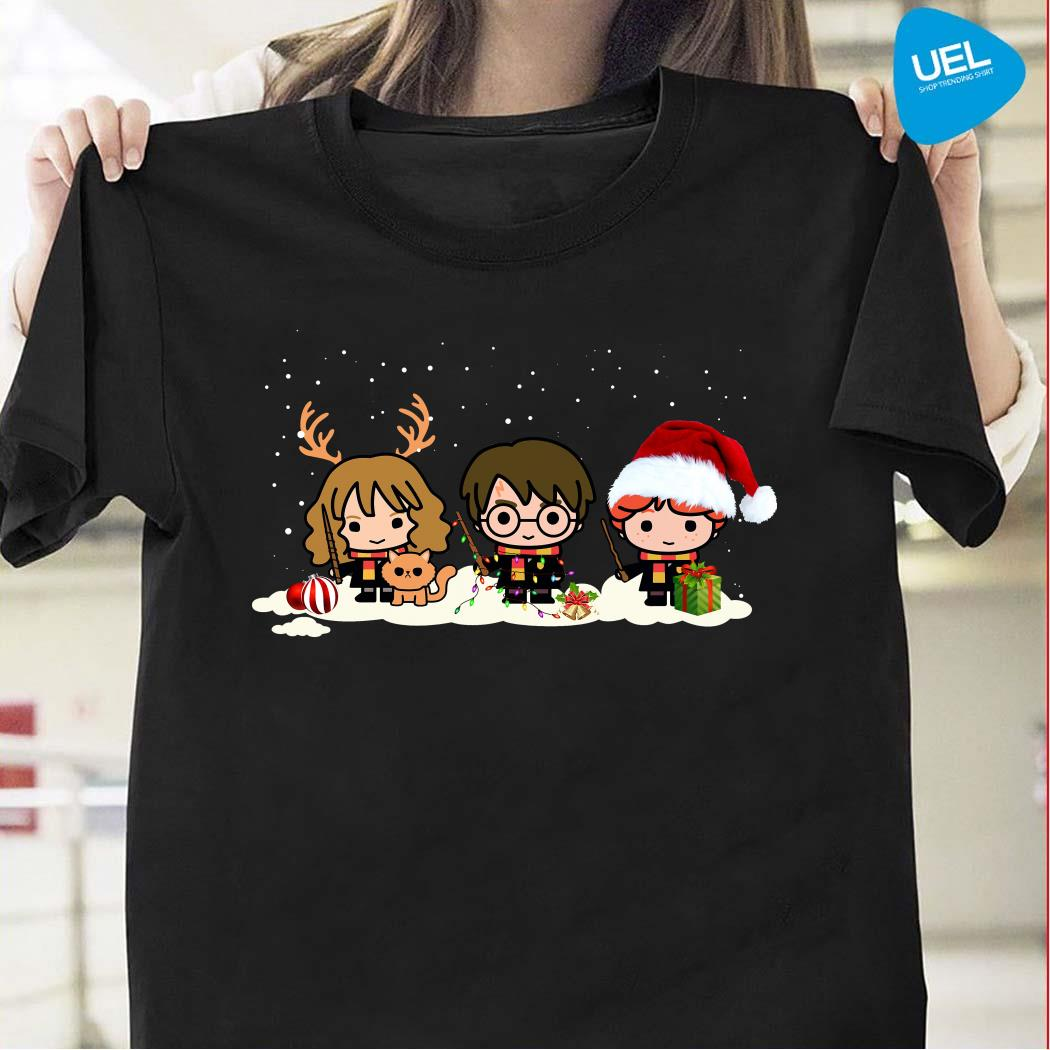 Santa Harry Potter chibi Christmas is coming shirt